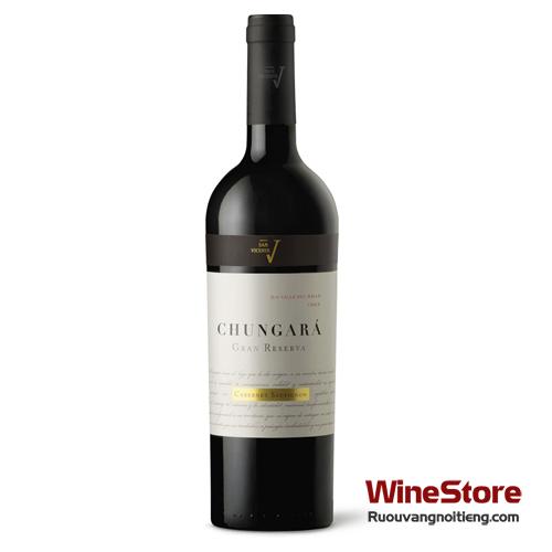 Rượu vang San Vicente Chungará Cabernet Sauvignon Gran Reserva - ruouvangnoitieng.com