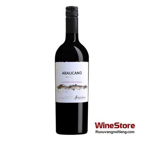 Rượu vang Francois Lurton Hacienda Araucano Reserva Cabernet Sauvignon - ruouvangnoitieng.com