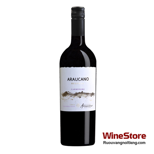 Rượu vang Francois Lurton Hacienda Araucano Reserva Carmenere - ruouvangnoitieng.com