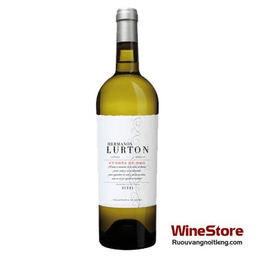 Rượu vang Hermanos Lurton Cuesta De Oro Rueda Verdejo - ruouvangnoitieng.com