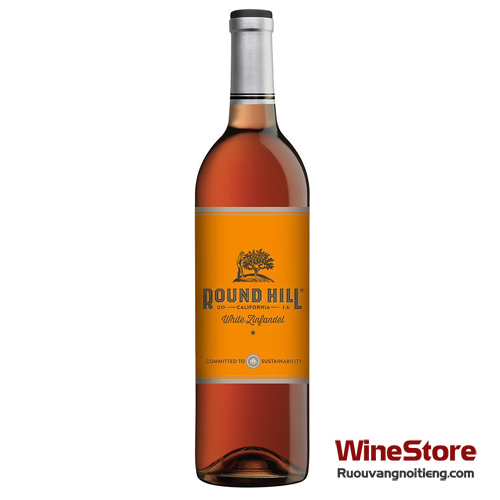 Rượu vang Round Hill California White Zinfandel - ruouvangnoitieng.com