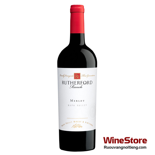 Rượu vang Rutherford Ranch Napa Valley Merlot - ruouvangnoitieng.com