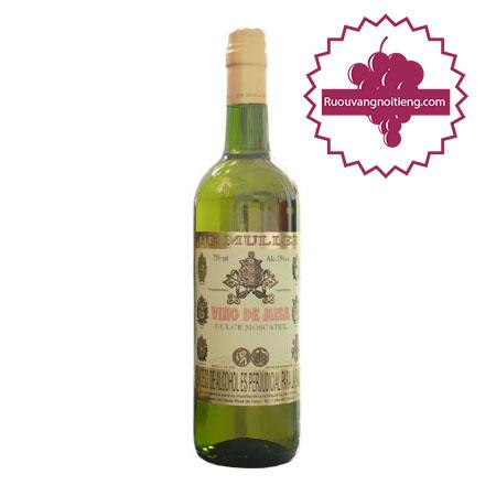 Rượu Lễ Vino De Misa Moscatel
