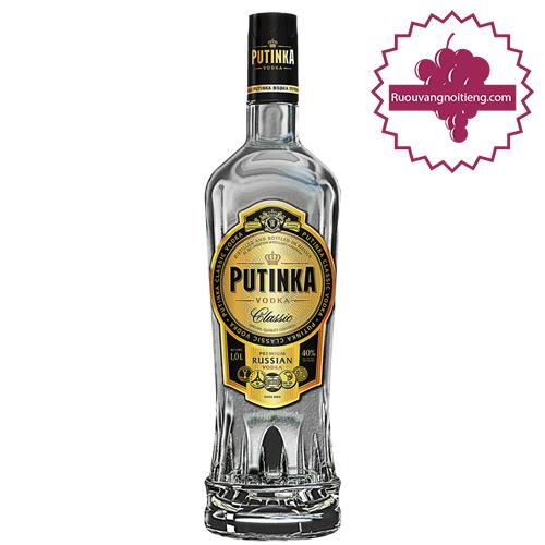 Rượu Vodka Putinka 500 ml - ruouvangnoitieng.com