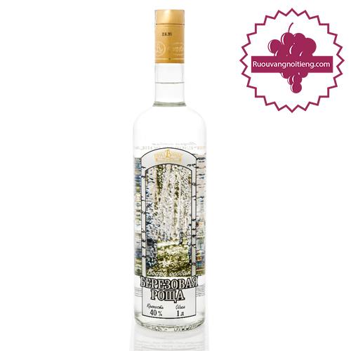 Rượu Vodka Bạch Dương - ruouvangnoitieng.com
