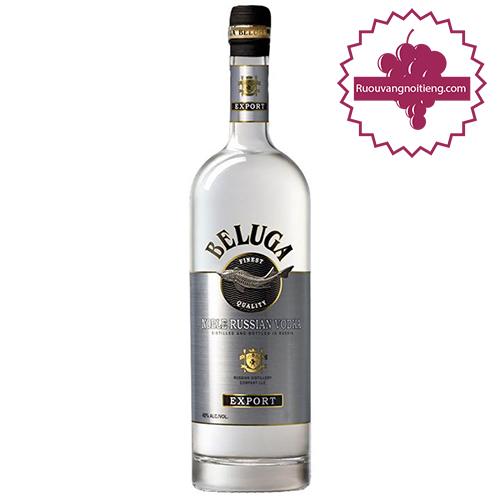 Rượu Vodka Beluga Noble - ruouvangnoitieng.com