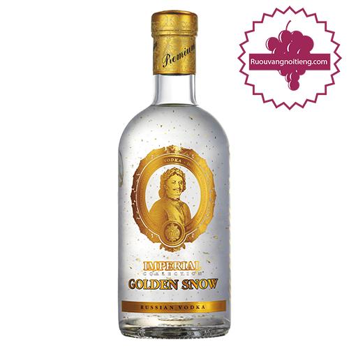 Rượu Vodka Imperial Golden Snow - Rượu Vodka Sa Hoàng Tuyết Vàng - ruouvangnoitieng.com