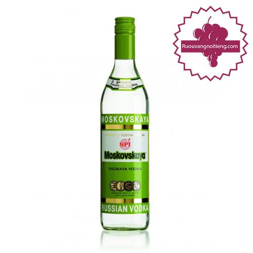 Rượu Vodka Moskovskaya - ruouvangnoitieng.com