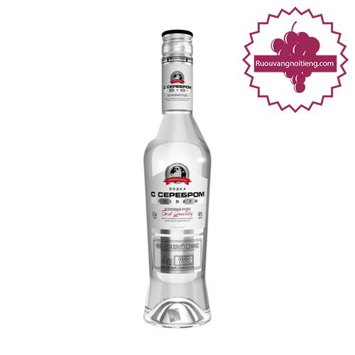 Rượu Vodka Silver Premium - Rượu Tem Bạc - ruouvangnoitieng.com