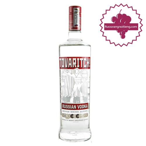 Rượu Vodka Tovaritch 1000ml - ruouvangnoitieng.com