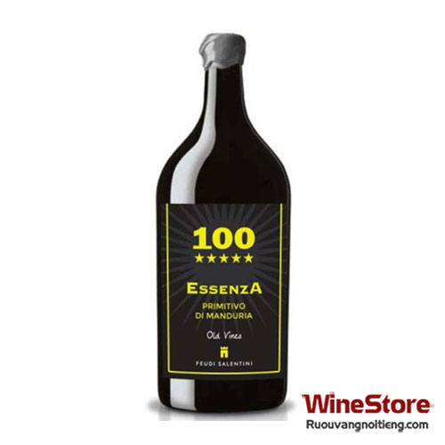 Rượu vang 100 Essenza Primitivo di Manduria 2012 3lít - ruouvangnoitieng.com