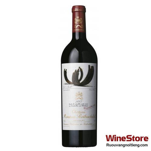 Rượu vang Château Mouton Rothschild Pauillac 2007 - ruouvangnoitieng.com