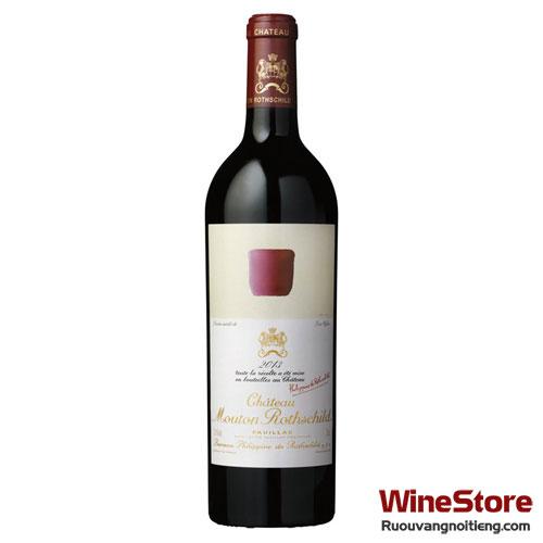 Rượu vang Château Mouton Rothschild Pauillac 2013 - ruouvangnoitieng.com