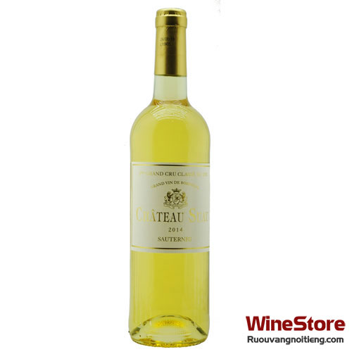 Rượu vang Château Suau Sauternes Grand Cru Classé 2014 - ruouvangnoitieng.com