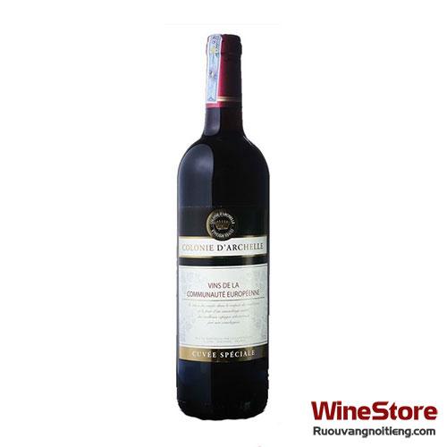 Rượu vang Colonie D'Archelle - ruouvangnoitieng.com