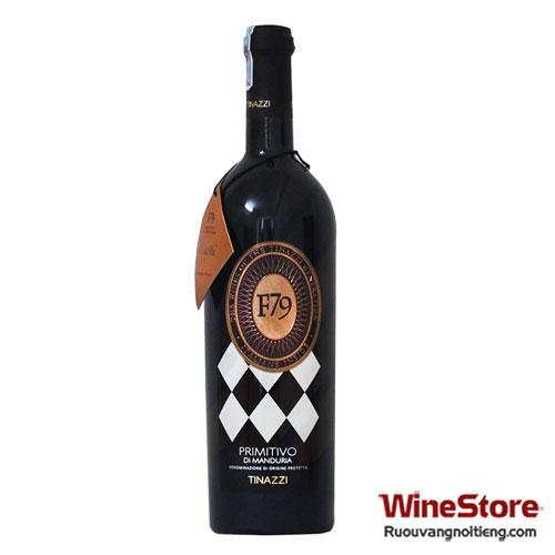 Rượu vang F79 Primitivo Di Manduria 2010 - ruouvangnoitieng.com