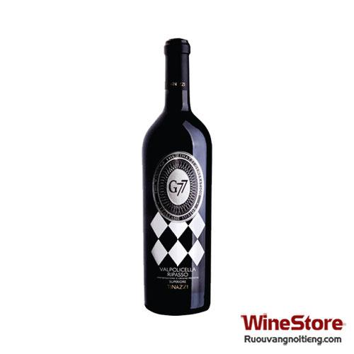 Rượu vang G77 Valpolicella Ripasso Superiore 2011 - ruouvangnoitieng.com