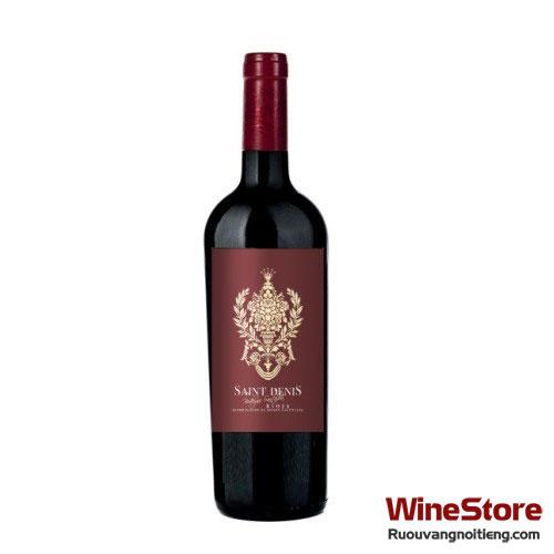 Rượu vang Saint Denis Crianza 2012 - ruouvangnoitieng.com