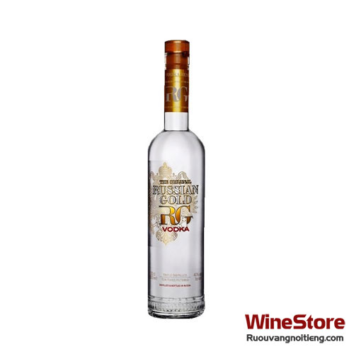 Rượu Vodka Russian Gold 500ml - ruouvangnoitieng.com