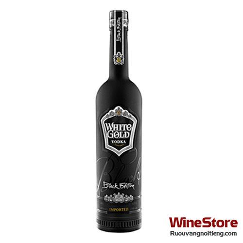 Rượu Vodka White Gold Black Edition 750ml - ruouvangnoitieng.com