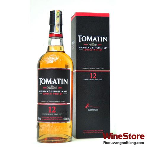 Rượu Whisky Tomatin 12 năm - ruouvangnoitieng.com