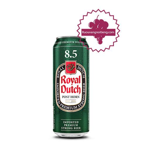 Bia Royal Dutch Post Horn Full Flavour lon 8,5% [BM] - ruouvangnoitieng.com