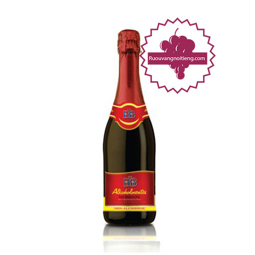 Rượu BB red grape juice sparkling (Nho đỏ ) [BM] - ruouvangnoitieng.com