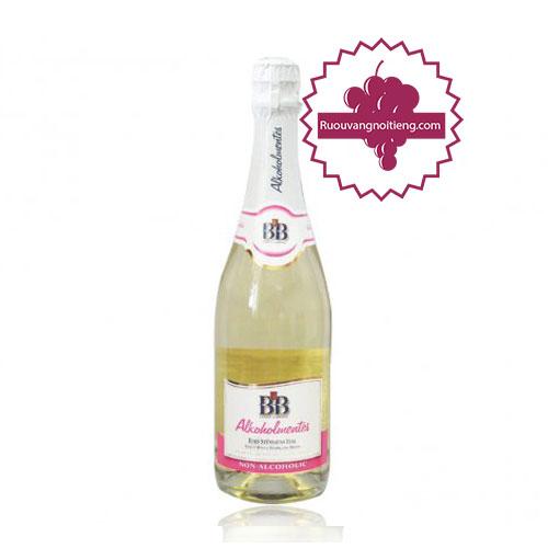 Rượu BB white grape juice sparkling (Nho trắng) [BM] - ruouvangnoitieng.com