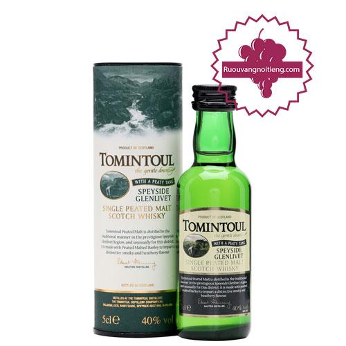 Rượu Miniature Tomintoul Peaty Tang 50ml [VA] - ruouvangnoitieng.com