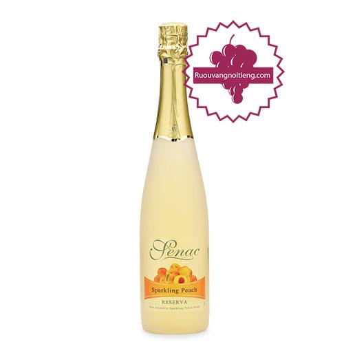 Rượu Senac - Spanish Sparkling Peach Juice [PE] - ruouvangnoitieng.com
