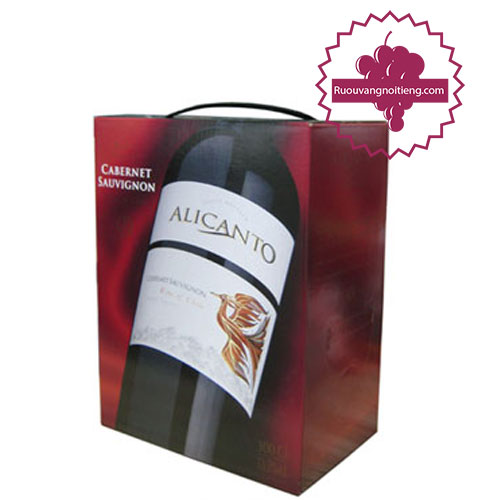 Rượu vang Alicanto Cabernet Sauvignon 3L [VA] - ruouvangnoitieng.com