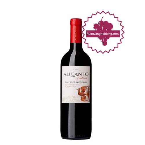 Rượu vang Alicanto Tradicion Cabernet Sauvignon [VA] - ruouvangnoitieng.com