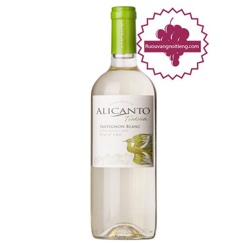 Rượu vang Alicanto Tradicion Sauvignon Blanc [VA] - ruouvangnoitieng