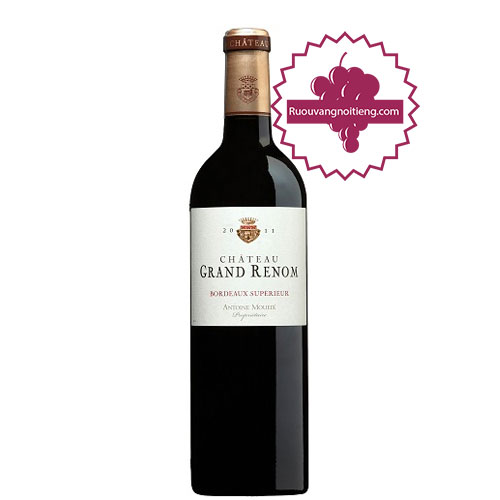 Rượu vang Chateau Grand Renom - Antoine Moueix [PE] - ruouvangnoitieng.com