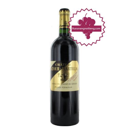 Rượu vang Chateau La Tour Martillac Grand Cru Classe 2006 [PE] - ruouvangnoitieng.com