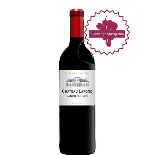 Rượu vang Chateau Lafond [PE] - ruouvangnoitieng.com