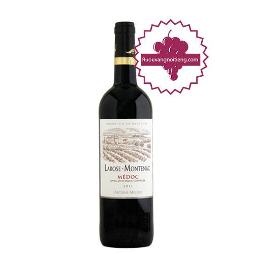 Rượu vang Chateau Larose Montenac [PE] - ruouvangnoitieng.com