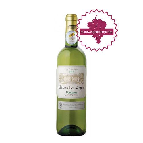 Rượu vang Chateau Les Vergnes [PE] - ruouvangnoitieng.com