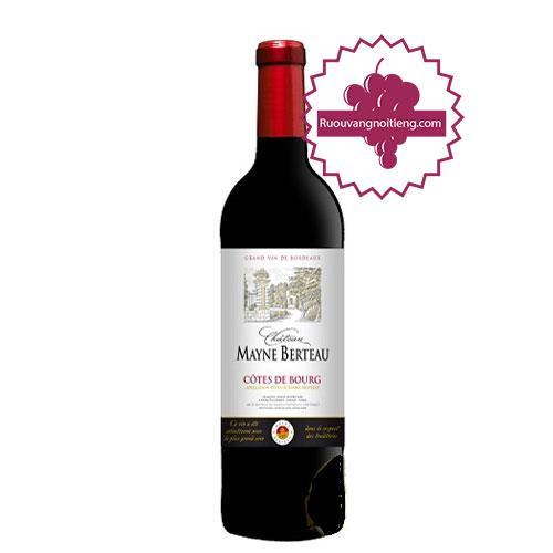 Rượu vang Chateau Mayne Berteau [PE] - ruouvangnoitieng.com
