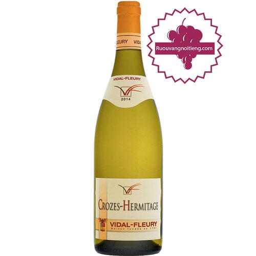 Rượu Vang Crozes Hermitage Blanc By Vidal Fleury [HT] - ruouvangnoitieng.com