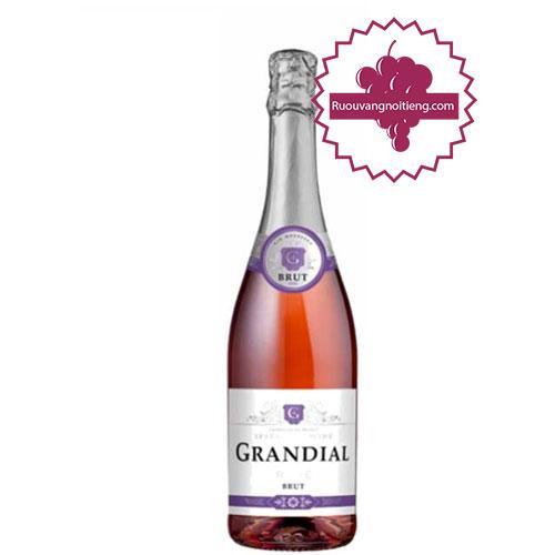 Rượu vang Grandial Sparkling Brut Rose [VA] - ruouvangnoitieng.com
