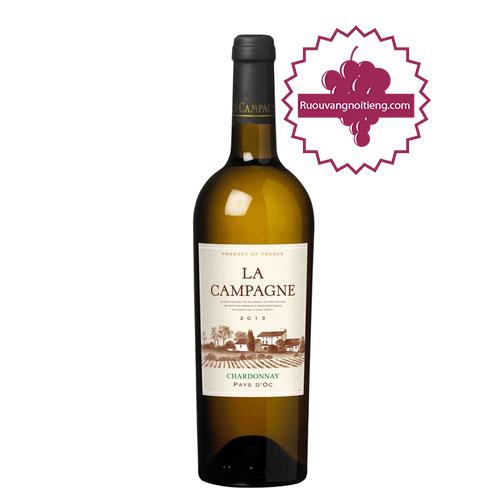 Rượu vang La Campagne Chardonnay [VA]-ruouvangnoitieng.com