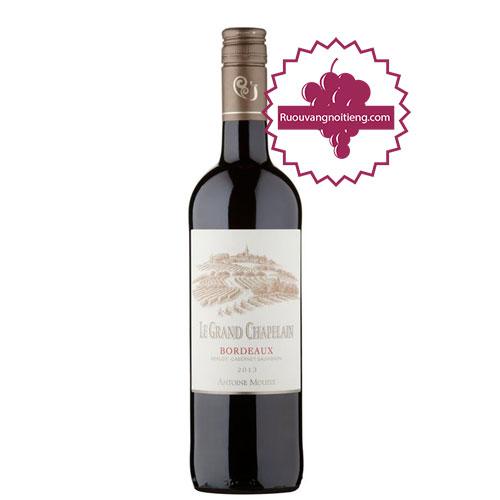 Rượu vang Le Grand Chapelain - Antoine Moueix Signature [PE] - ruouvangnoitieng.com