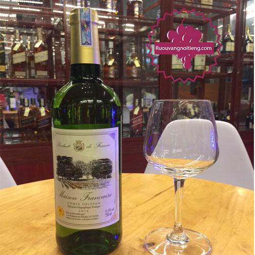 Rượu vang Maison Comte Tolosan [VA]-ruouvangnoitieng.com