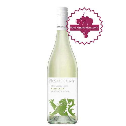 Rượu vang McGuigan Bin 9000 Semillon [PE] - ruouvangnoitieng.com
