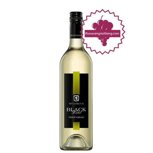 Rượu vang McGuigan Black Label - Pinot Grigio [PE] - ruouvangnoitieng.com