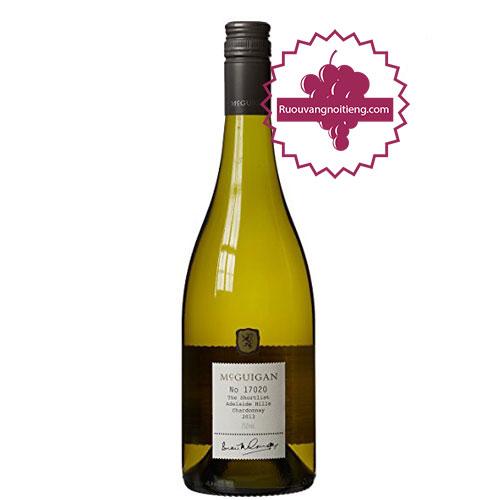 Rượu vang McGuigan The Shortlist Chardonnay 2011 [PE] - ruouvangnoitieng.com