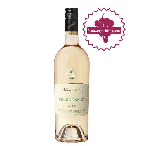 Rượu vang Monastier Chardonnay [VA]-ruouvangnoitieng.com