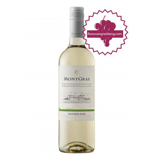 Rượu vang MontGras Estate Sauvignon Blanc [PE] - ruouvangnoitieng.com