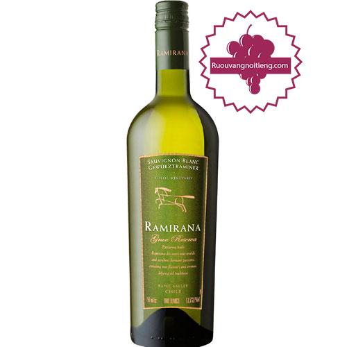 Rượu Vang Ramirana Gran Reserva [HT] - ruouvangnoitieng.com